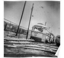 Vintage Streetcar Trolley 1232 Poster