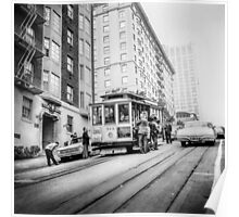 Vintage Streetcar Trolley 1817 Poster