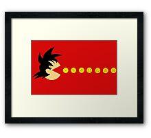 Pacball Framed Print