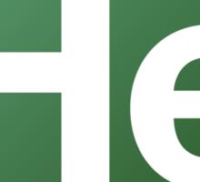 Element Helium Sticker