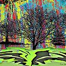 Winter Oak by Dick  Iacovello