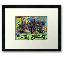 Winter Oak Framed Print