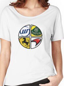 F1 - 4 Legends Women's Relaxed Fit T-Shirt