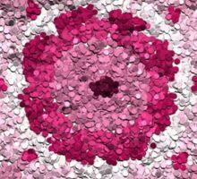 Beautiful Love and Peace Meditation Mandala Sticker