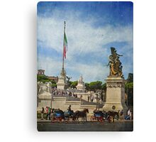 Scenes of Rome Canvas Print