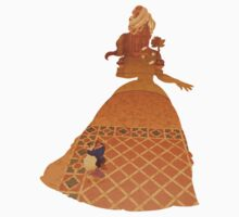 Belle - Beauty & The Beast - Disney Inspired Kids Clothes