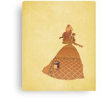 Belle - Beauty & The Beast - Disney Inspired Canvas Print