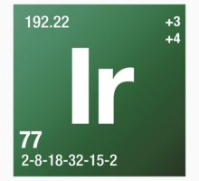 Element Iridium by Defstar