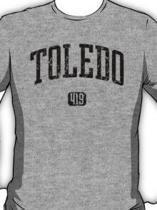 Toledo 419 (Black Print) T-Shirt