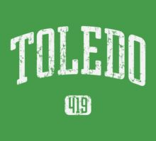 Toledo 419 (White Print) Kids Clothes