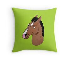 BoJack Throw Pillow