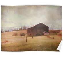 Peaceful Country Life Poster