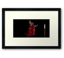 A Candle for Catphrodite 2 Framed Print