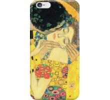 The Kiss Closeup - Gustav Klimt iPhone Case/Skin
