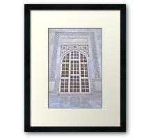 At Taj Framed Print