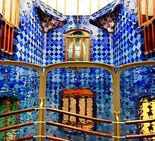 Gaudi Palace Barcelona by Angelika  Vogel