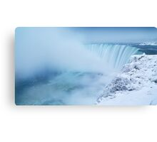 Niagara Falls in Winter Panorama art photo print Canvas Print