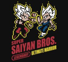 Super Saiyan Bros by Baznet
