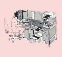 COMPUTER OFFICE WORKER One Piece - Long Sleeve