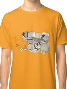 COMPUTER OFFICE WORKER Classic T-Shirt