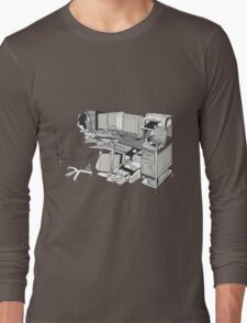 COMPUTER OFFICE WORKER Long Sleeve T-Shirt