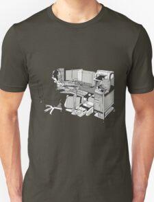 COMPUTER OFFICE WORKER Unisex T-Shirt