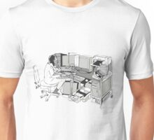 COMPUTER OFFICE WORKER Unisex T-Shirt
