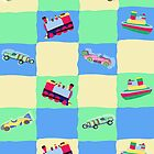 Toy Patchwork by Sigourney Smith