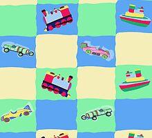 Toy Patchwork by Sigourney Smith