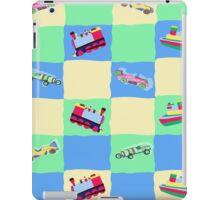 Toy Patchwork iPad Case/Skin