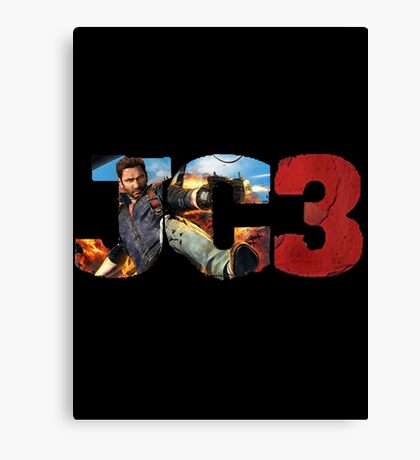 Just Cause 3 Canvas Print