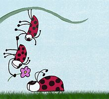 Ladybug Professing His Love by OneArtsyMomma