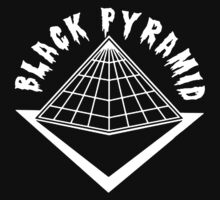 Black Pyramid in White by ParadiseGlobal