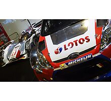 Ford Fiesta WRC / Audi R18 LMP1 Photographic Print