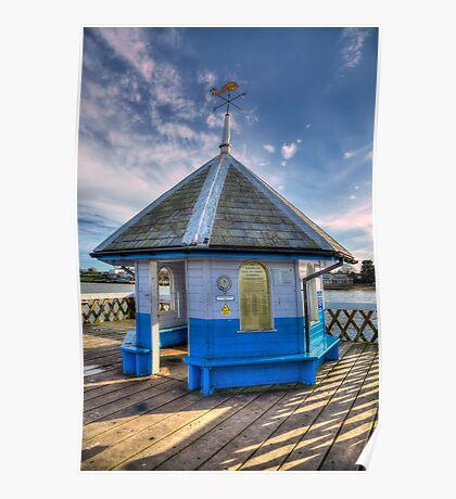 Yarmouth Pier Rotunda Poster