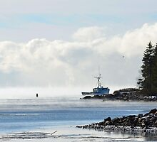 Sea Smokin' in Henry Cove by WHYankee
