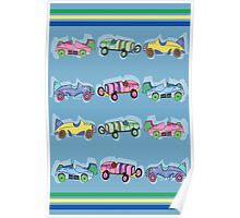 Toy Cars Poster