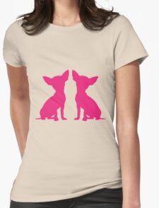 Chihuahua - Pink Print Two  T-Shirt