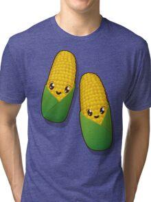 Kawaii corn Tri-blend T-Shirt