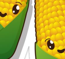 Kawaii corn Sticker