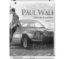 Paul Walker iPad Case/Skin