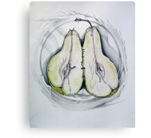 pair O pear Canvas Print