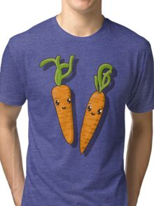 Kawaii carrot  Tri-blend T-Shirt