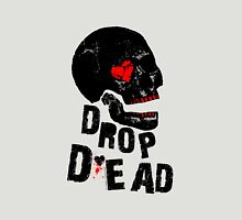 Drop Dead Valentine Womens Fitted T-Shirt