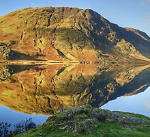 Reflections In Crummock Water by VoluntaryRanger