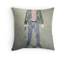 Heisenberg From Breaking Bad Typography Quote Design Throw Pillow