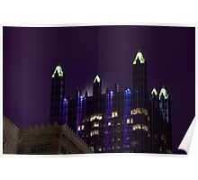 PPG Place, at Night Poster
