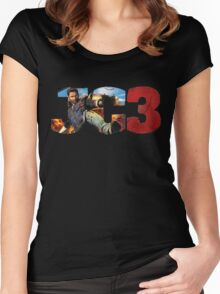 Just Cause 3 Women's Fitted Scoop T-Shirt