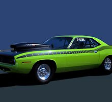 1970 Plymouth Barracuda Dragster by TeeMack