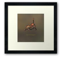 Cat-hooligan Framed Print